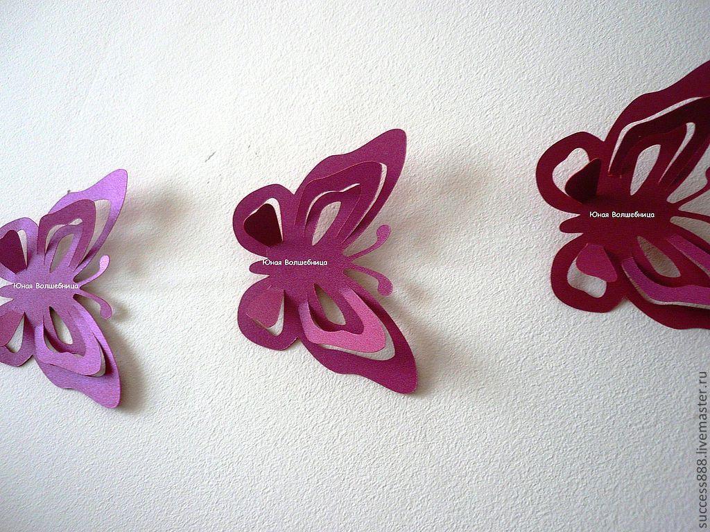 Бабочки для гирлянд своими руками 298
