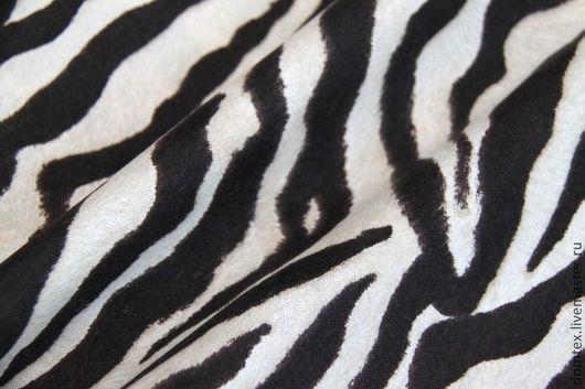 Ткань с принтом в стиле animal