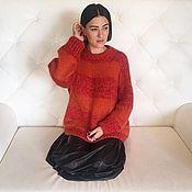 Одежда ручной работы. Ярмарка Мастеров - ручная работа Объемный свитер из кид мохера. Handmade.