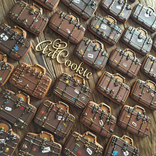Кулинарные сувениры ручной работы. Ярмарка Мастеров - ручная работа. Купить Путешествующим. Handmade. Комбинированный, пряничный сувенир, пряничное тесто