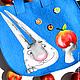 """Женские сумки ручной работы. Ярмарка Мастеров - ручная работа. Купить Войлочная сумка """"Наливное яблочко"""". Handmade. Яблоко, фетр"""