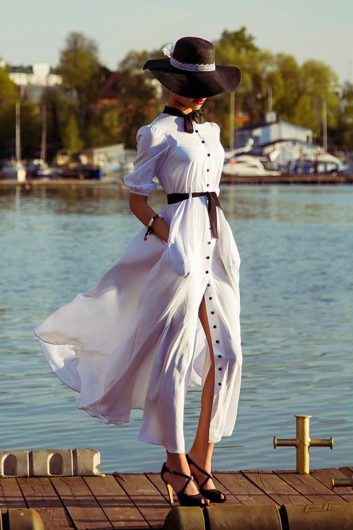 Купить Платье В Горошек В Интернет Магазине