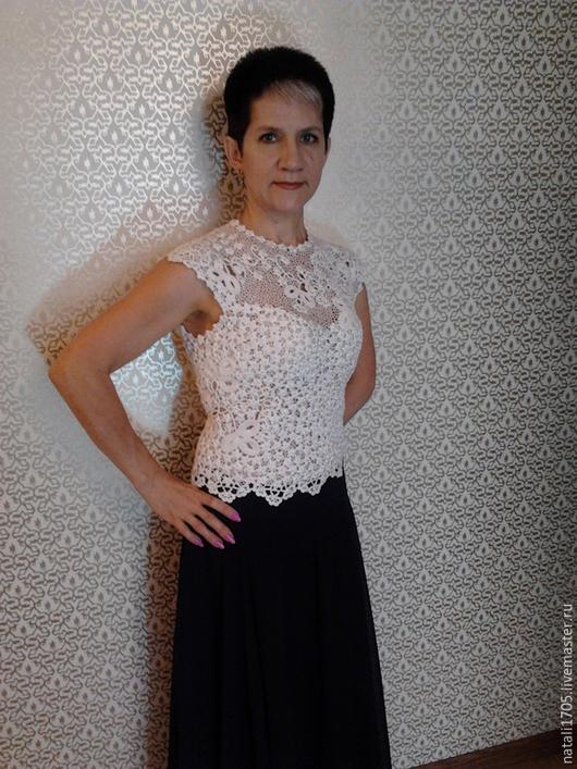"""Платья ручной работы. Ярмарка Мастеров - ручная работа. Купить Топ-корсет """"Нежность"""". Handmade. Белый, корсетное платье"""