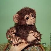 Куклы и игрушки ручной работы. Ярмарка Мастеров - ручная работа Шимпанзе Софочка. Handmade.