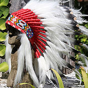 Фен-шуй и эзотерика handmade. Livemaster - original item Indian headdress - roach