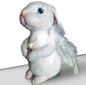 Куклы и игрушки ручной работы. Ярмарка Мастеров - ручная работа ангельский Кролик ))). Handmade.