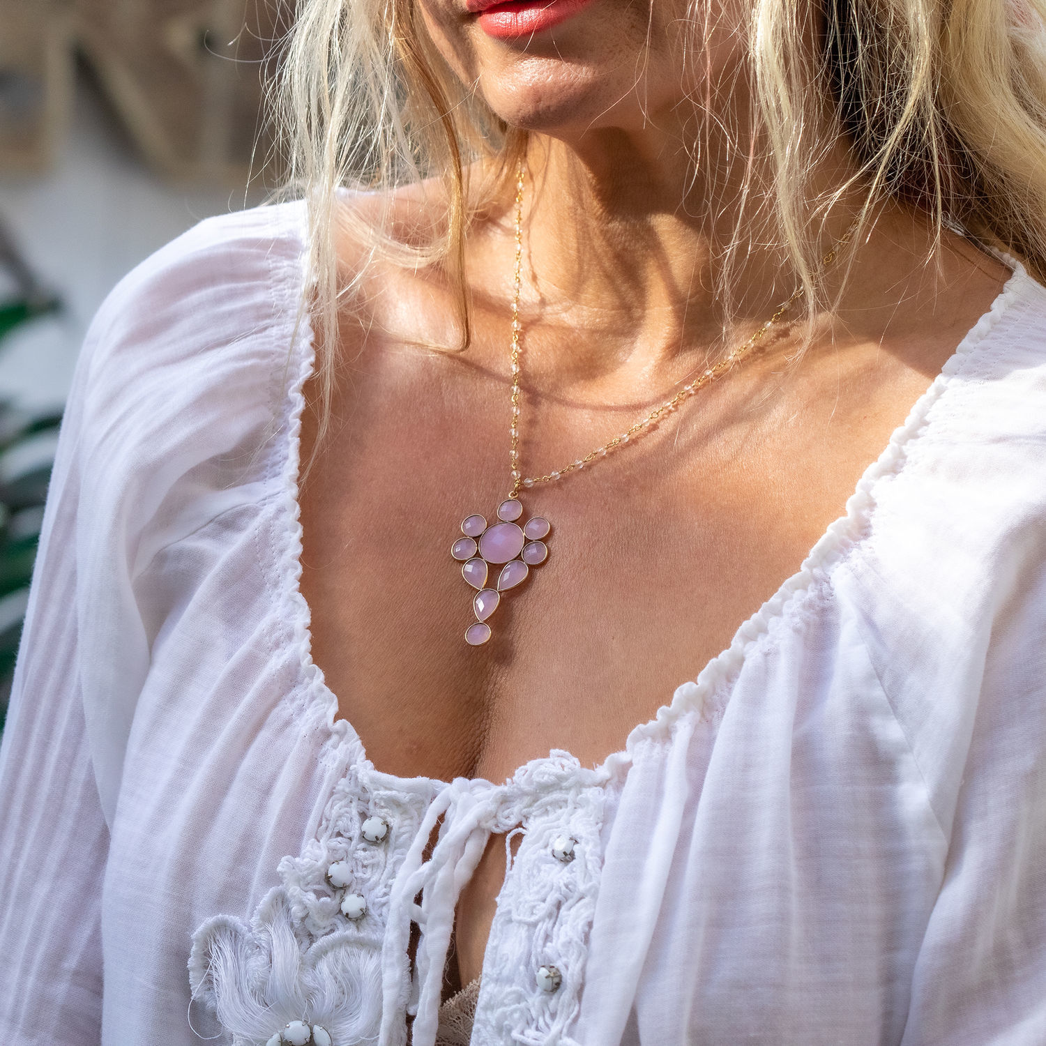 A delicate chain with a pendant, 'the source of Love», Chain, Magnitogorsk,  Фото №1