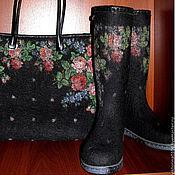 Аксессуары handmade. Livemaster - original item Boots and bag