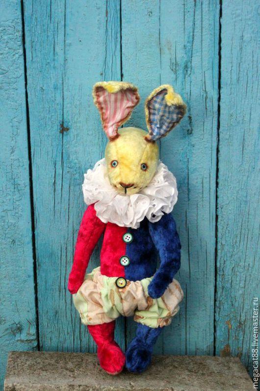 Мишки Тедди ручной работы. Ярмарка Мастеров - ручная работа. Купить Заяц тедди Влюбленный в цирк. Handmade. Комбинированный, цирк