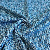 Ткани ручной работы. Ярмарка Мастеров - ручная работа Пальтовая шерсть-букле Armani. Handmade.