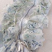 Аксессуары handmade. Livemaster - original item Felted scarf with flounces