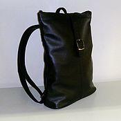 Сумки и аксессуары handmade. Livemaster - original item Backpack leather city 777. Handmade.