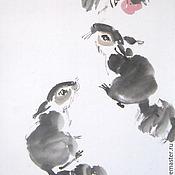 Картины и панно ручной работы. Ярмарка Мастеров - ручная работа Две белки. Handmade.