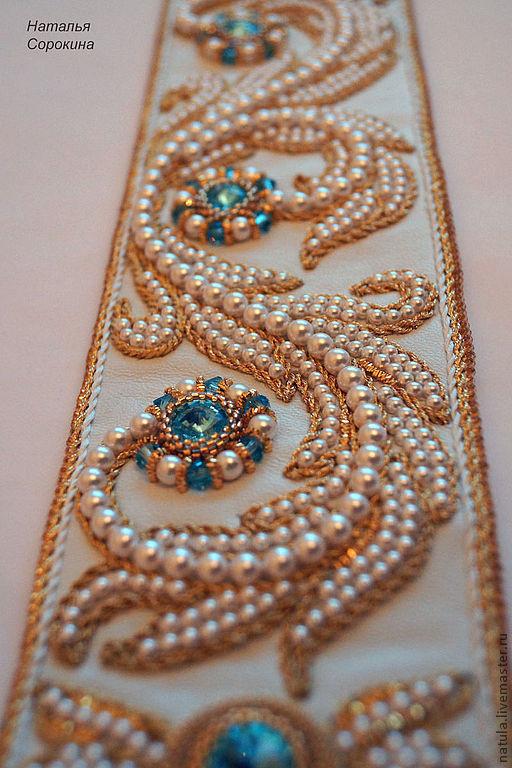 Вышивка бисером платья мастер класс
