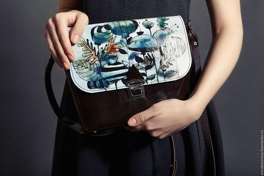 Женские сумки ручной работы. Ярмарка Мастеров - ручная работа. Купить эко. Handmade. Чёрно-белый, Подкладочная ткань