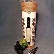 Подарочные боксы ручной работы. Ярмарка Мастеров - ручная работа Короб для вина. Handmade.