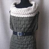 Одежда ручной работы. Ярмарка Мастеров - ручная работа Жилет вязаный + шапочка. Handmade.