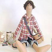 """""""В поисках истины"""" - кукла портретная для интерьера"""