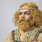 Куклы и игрушки ручной работы. Ярмарка Мастеров - ручная работа Илья Муромец и Соловей. Handmade.