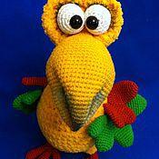 """Куклы и игрушки ручной работы. Ярмарка Мастеров - ручная работа Мастер-класс по вязанию """"Птица Додо"""". Handmade."""