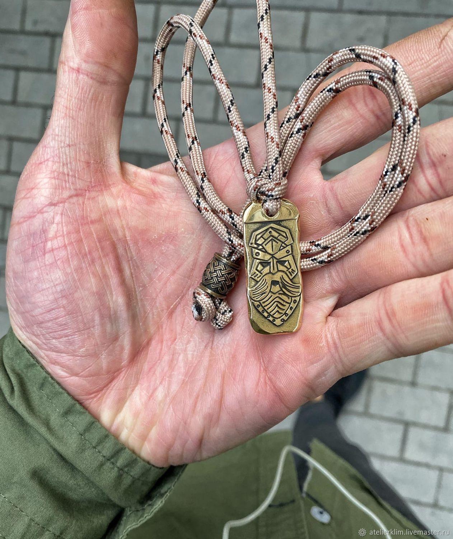 Бронзовый  кулон  ,  защитник ,бронзовая подвеска, Подвеска, Волгоград,  Фото №1