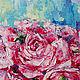 Картины цветов ручной работы. Заказать Ранункулюсы в вазе. K&ART. Ярмарка Мастеров. Ранункулюсы, картина в спальню, лаймлвый