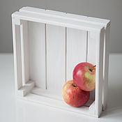 Для дома и интерьера ручной работы. Ярмарка Мастеров - ручная работа Ящик из реек. Handmade.