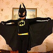 Работы для детей, handmade. Livemaster - original item Batman carnival costume. Handmade.