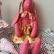 Куклы и игрушки ручной работы. Ярмарка Мастеров - ручная работа Зайка-тильда. Handmade.