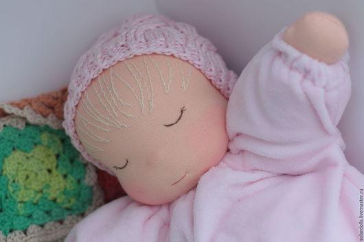 Вальдорфская кукла Сплюша 33-37  см .Julia Solarrain (SolarDolls) Ярмарка Мастеров