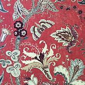 Материалы для творчества ручной работы. Ярмарка Мастеров - ручная работа 3м Английская ткань для штор 100% шерсть. Handmade.