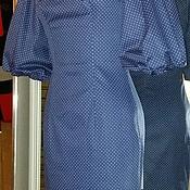 """Одежда ручной работы. Ярмарка Мастеров - ручная работа Платье в горошек """"Кокетка"""". Handmade."""