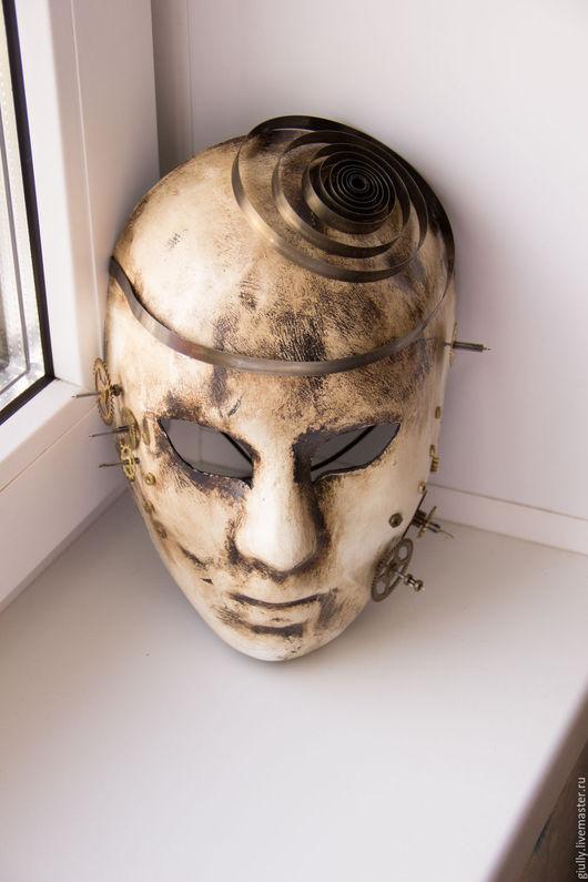Подарки на Хэллоуин ручной работы. Ярмарка Мастеров - ручная работа. Купить Венецианская маска Вольто. Handmade. Папье-маше, маска