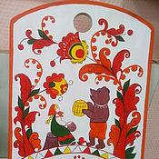 Русский стиль ручной работы. Ярмарка Мастеров - ручная работа Доска деревянная Борецкая. Handmade.