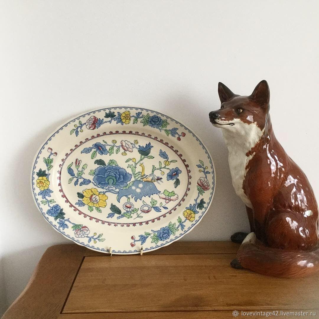 Винтаж: Овальная тарелка от Masons Regency, Тарелки винтажные, Лондон,  Фото №1