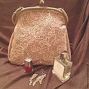Сумки и аксессуары ручной работы. Ярмарка Мастеров - ручная работа сумка с кружевом и вышивкой. Handmade.