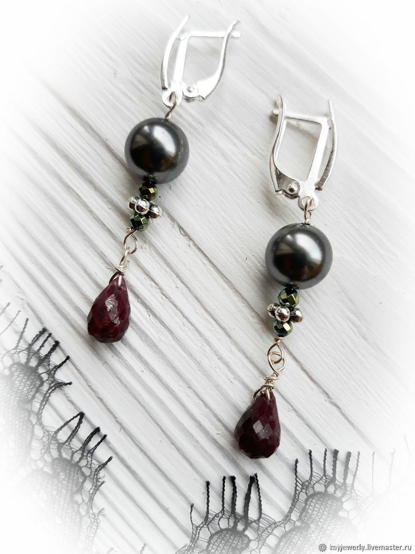 Earrings ' Frederica', Earrings, Moscow,  Фото №1