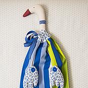 Для дома и интерьера ручной работы. Ярмарка Мастеров - ручная работа Гусь пакетница. Handmade.