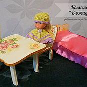 """Куклы и игрушки ручной работы. Ярмарка Мастеров - ручная работа Мебель для деток """"В ожидании лета"""". Handmade."""