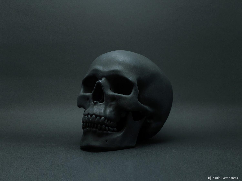 """Интерьерный череп """"FANTOM"""", Статуэтки, Санкт-Петербург,  Фото №1"""