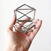 Свадебный салон ручной работы. Ярмарка Мастеров - ручная работа Шкатулка для колец / серебро. Handmade.