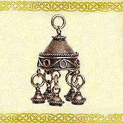 Украшения ручной работы. Ярмарка Мастеров - ручная работа Подвеска шумящая Волшебный колокольчик. Handmade.