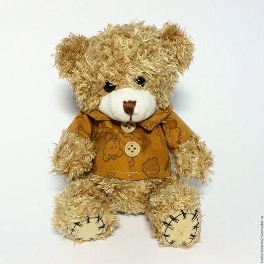 Куклы и игрушки ручной работы. Ярмарка Мастеров - ручная работа. Купить Мишка Teddy Beige (14 см). Handmade. Бежевый