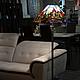 Торшер «Старый город», Тиффани, стекло, D – 63 см, высота 142 см, 630 деталей.