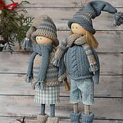 Куклы и игрушки ручной работы. Ярмарка Мастеров - ручная работа Мы вместе. Человеки Неразлучные. Handmade.