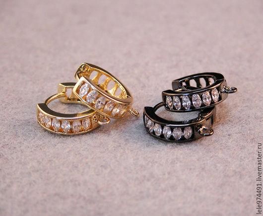 Для украшений ручной работы. Ярмарка Мастеров - ручная работа. Купить Два цвета!!! Швензы, кольца - 105. Handmade.
