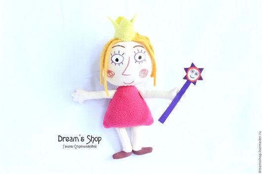 Сказочные персонажи ручной работы. Ярмарка Мастеров - ручная работа. Купить Принцесса Холли, мягкая игрушка. Handmade. подарок ребенку