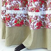 Одежда handmade. Livemaster - original item The floor-length skirt, summer, light, long skirt.. Handmade.