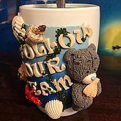 Чашки ручной работы. Ярмарка Мастеров - ручная работа Кружка «Следуй за мечтой». Handmade.