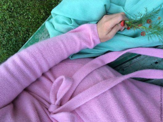 """Платья ручной работы. Ярмарка Мастеров - ручная работа. Купить Розовое """"Кашемировый пион"""". Handmade. Ручная работа, вязаное платье"""